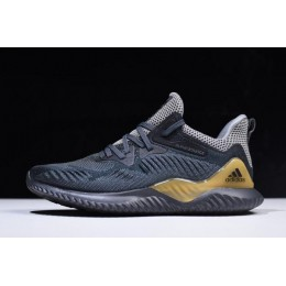 Men 2018 Adidas AlphaBounce Beyond Grey-Carbon-Solid Grey