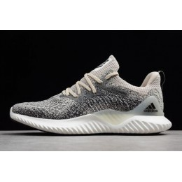 Men 2018 Adidas AlphaBounce Beyond M Beige Black B42287