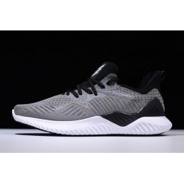 Men Adidas AlphaBounce Beyond M White-Black Running Shoes