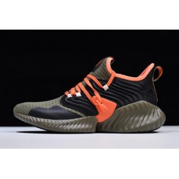 Men Adidas AlphaBounce Instinct CC M Olive-Team Orange F35394