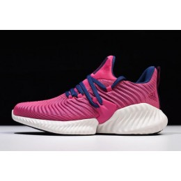 Women Adidas AlphaBounce Instinct CC Size Real Magenta-Blue Shoes