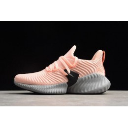 Women Adidas AlphaBounce Instinct Clear Orange-Chalk Coral-Hi Res Aqua