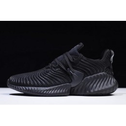 Men/Women Adidas AlphaBounce Instinct Triple Black B76037