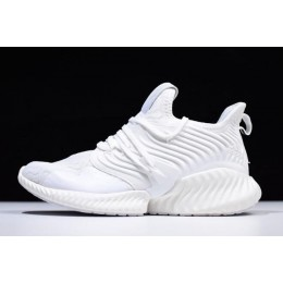 Men Adidas AlphaBounce Instinct Triple White DB2732