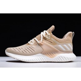 Men Adidas Alphabounce Beyond 2 M Beige White BD7098