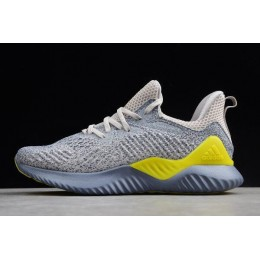 Men Adidas Alphabounce Beyond 2 M Grey-Tan-Yellow