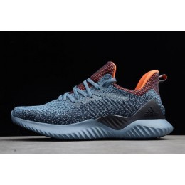 Men/Women Adidas Alphabounce Beyond Raw Grey-Hi-Res Orange-Legend Ink