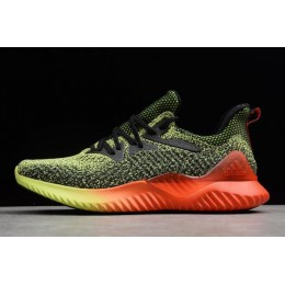 Men Adidas Alphabounce Beyond WC Yellow-Solar Red-Black B27815