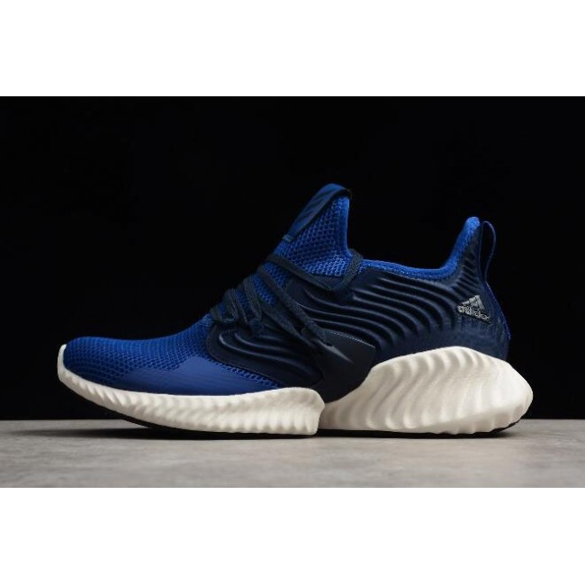 Men Adidas Alphabounce Instinct CC M Blue-Navy-White Running Shoes