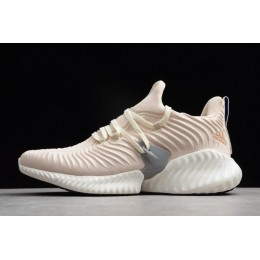 Men/Women Adidas Alphabounce Instinct Linen-Cloud White-Grey Three