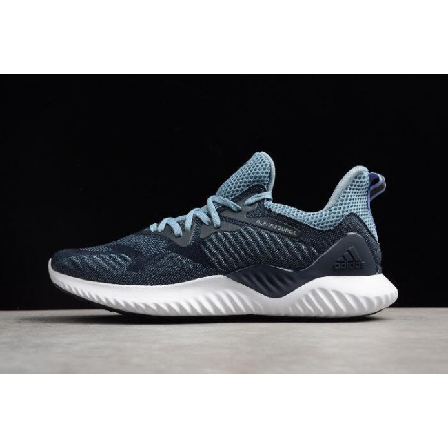 Men Adidas Alphabounce Beyond Legend Ink-Raw Grey Running Shoes