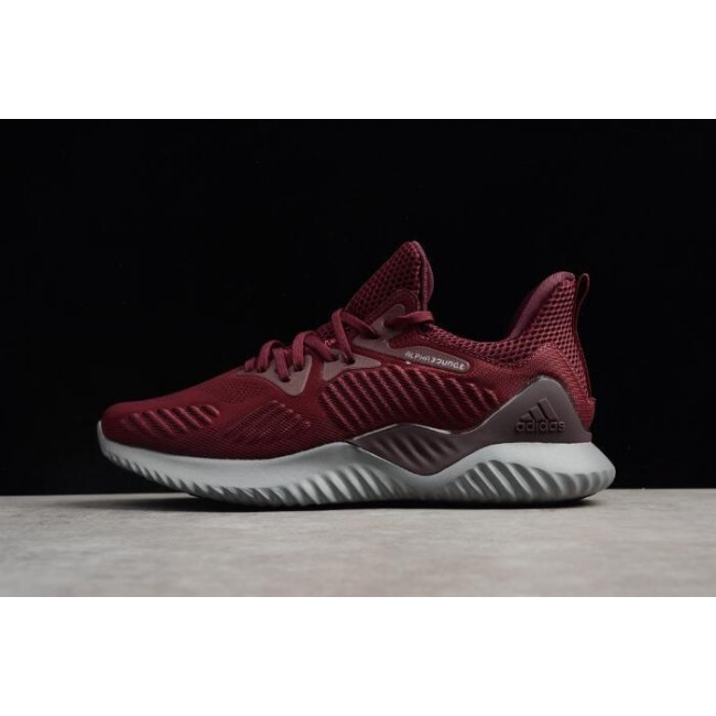 Men Adidas Alphabounce Beyond Maroon-Mystery Red CG4761