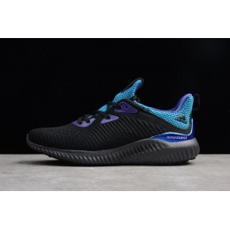 Men Adidas AlphaBounce 1 Kolor Core Black-Grey Five-Energy Ink