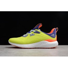 Men Adidas AlphaBounce 1 Kolor Energy-Energy Ink-Semi Solar Yellow