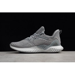 Men Adidas Alphabounce Beyond Grey Running Shoes