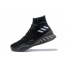 Men Adidas Crazy Explosive 2017 Black-White Shoes