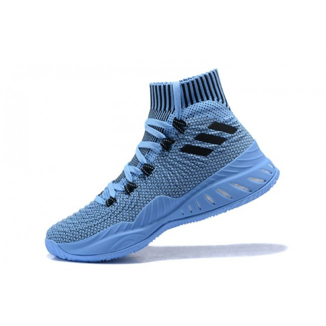 Men Adidas Crazy Explosive 2017 Blue-Black-White Basketball Shoes