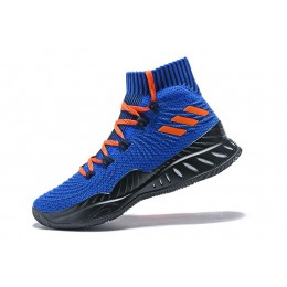 Men Adidas Crazy Explosive 2017 Kristaps Porzingis PE Royal-Black-Orange