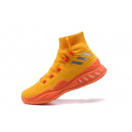 Men Adidas Crazy Explosive 2017 Orange-Red-White Shoes