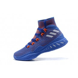 Men Adidas Crazy Explosive 2017 PE Royal Blue-Orange Size