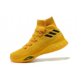 Men Adidas Crazy Explosive 2017 Primeknit Bruce Lee Tour Yellow-Black