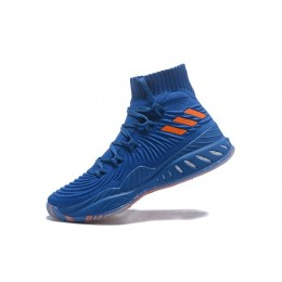 Men Adidas Crazy Explosive 2017 Primeknit Classic Royal-Orange-White