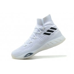Men Adidas Crazy Explosive 2017 Primeknit Crystal White-FTWR White-Core Black