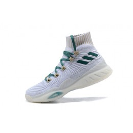 Men Adidas Crazy Explosive 2017 White Green PE
