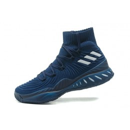 Men Adidas Crazy Explosive 2017 Primeknit Navy Blue
