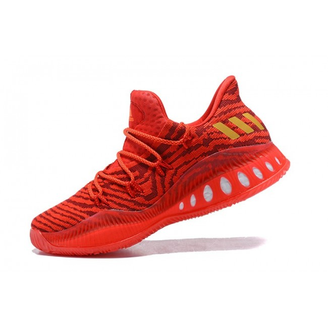 Men Adidas Crazy Explosive Low All-Star PE Red Gold