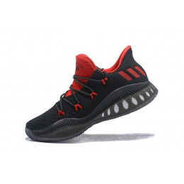 Men Adidas Crazy Explosive Low Black-Red Basketball Shoes