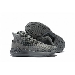 Men 2018 Adidas D Rose 9 Cool Grey Basketball Shoes