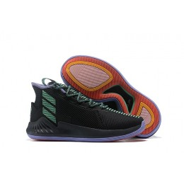 Men Adidas D Rose 9 Black Green