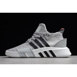 Men Adidas EQT BASK ADV Grey Two-Core Black-White