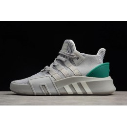 Men/Women Adidas EQT Bask ADV Grey Two-Footwear White-Sub Green
