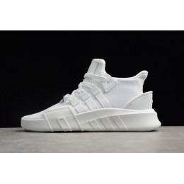 Men/Women Adidas EQT Basketball ADV White and Shoes DA9534