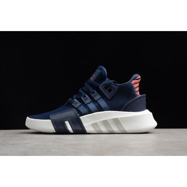 Men/Women Latest Adidas EQT Bask ADV Navy Collegiate Navy-Real Coral-White