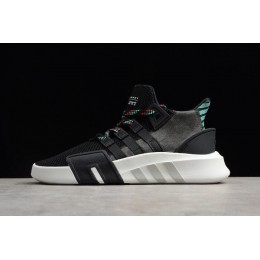 Men/Women Mens and WMNS Adidas EQT Bask ADV Core Black-Sub Green-White