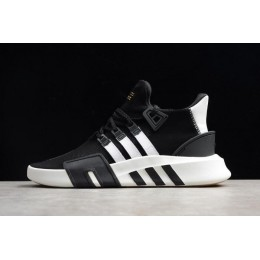Men/Women New Adidas EQT Bask ADV Black-White and Size D96766