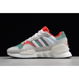Men/Women Adidas EQT Support 91-18 Grey-Green-Red-White