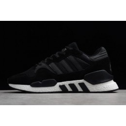 Men/Women New Adidas EQT Support 91-18 Black White EE3649