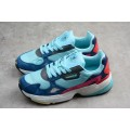 Women Adidas Falcon Blue-Navy-Pink-Red-White