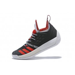 Men New Adidas Harden Vol.2 Pioneer Black-Scarlet-Grey
