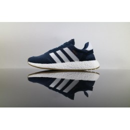 Men/Women Best Price Authenic Adidas Iniki Runner Boost Blue White