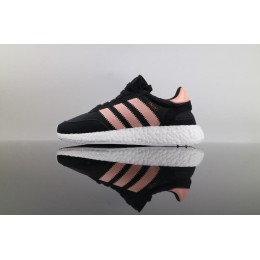 Men/Women Authenic Adidas Iniki Runner Boost Black Pink