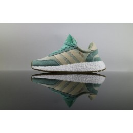 Men/Women Authenic Adidas Iniki Runner Boost Easy Green