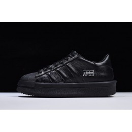 Men/Women Rick Owens x Adidas Mastodon Pro II Low All Black