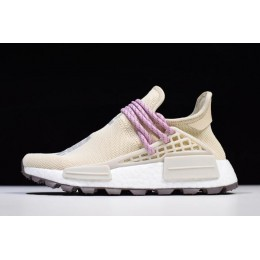Men/Women Pharrell Williams x Adidas Human Race NMD Hu NERD Cream White Pink