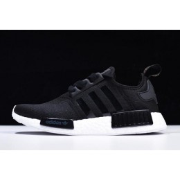Men/Women Adidas NMD R1 Black-White S82269