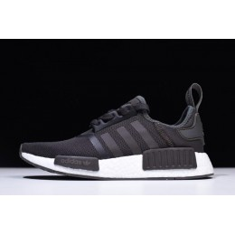 Men Adidas NMD R1 Trace Grey Metalic-White Shoes